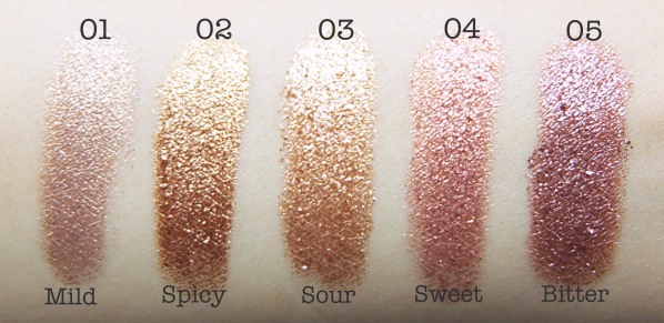 Bbia pigments swatch