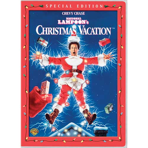 DVD cover Christmas Vacation 1989 movieloversreviews.filminspector.com