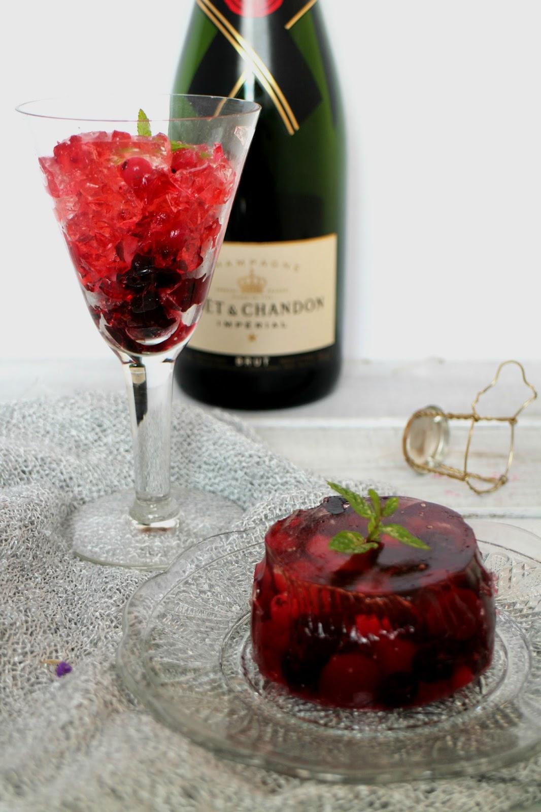 gelatina-de-champan, champagne-gelatin