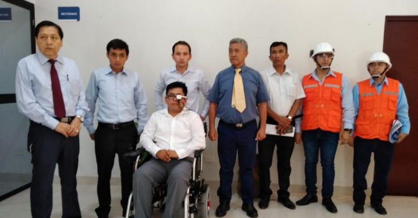 UNPRG: Egresados de la Universidad Nacional Pedro Ruiz Gallo crean silla de ruedas que se controla con movimiento de ojos
