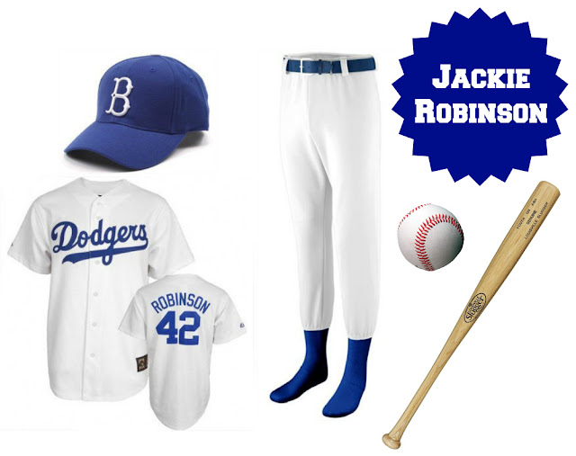 boy's Jackie Robinson costume