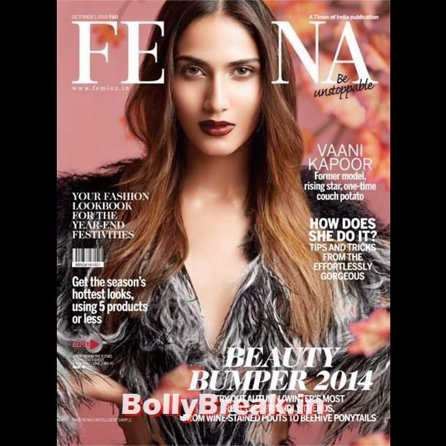, Vaani Kapoor Femina Magazine Cover