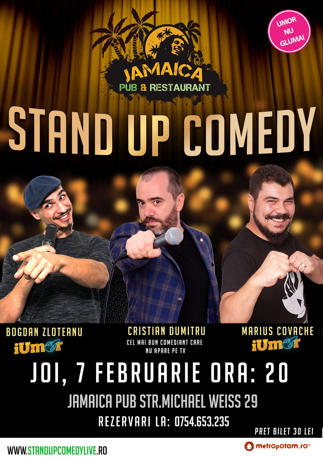 Stand-Up Comedy Romania: Brasov