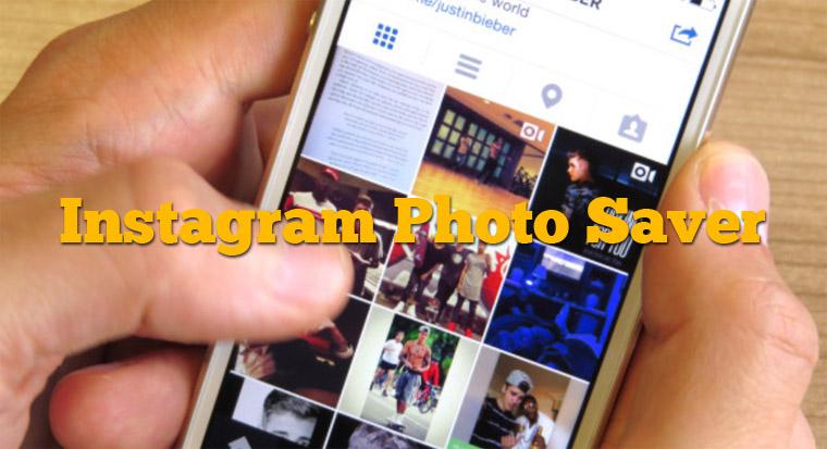 cara save foto dari instagram