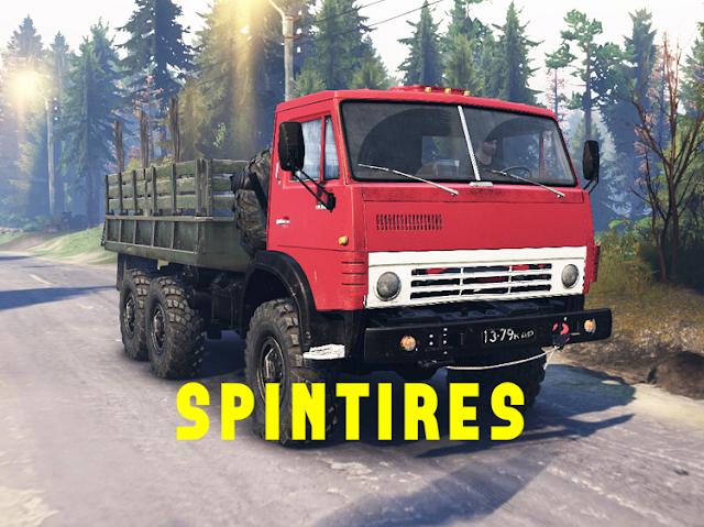 تحميل spintires مع السيارات