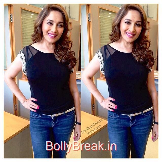 i am obsessed with madhuris hair😍😍 @madhuridixitnene, Madhuri Dixit Hot Pics From Different Events