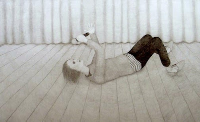 Sebastiaan Schlicher Ecstacy of Truth, 2011 pencil on paper 150 x 244 cm