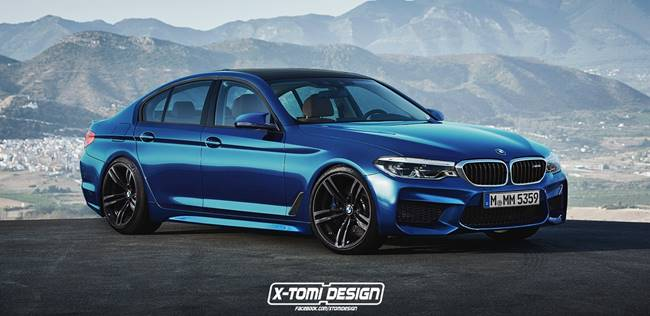 2018  BMW M5 F90 Rendering