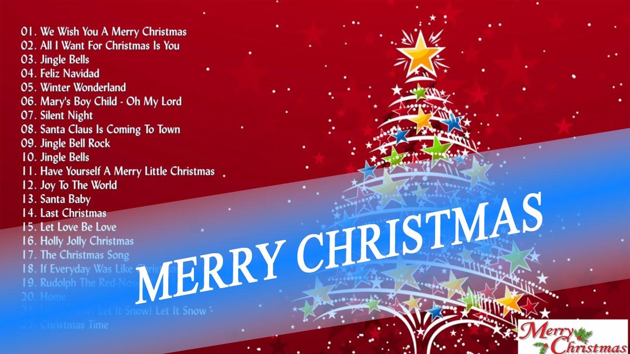 christmas carols list usa