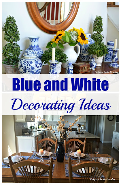 Blue and White Decorating Ideas