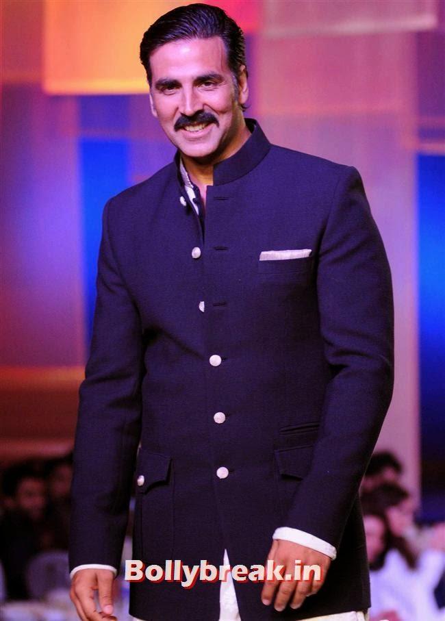 Akshay Kumar, Top Bollywood Celebs at Men For Mijwan Charity Fashion Show