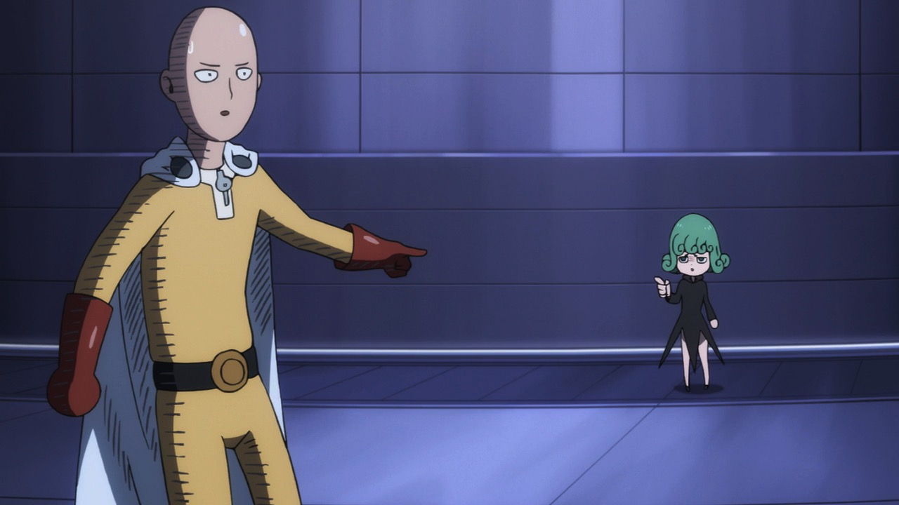 One Punch Man Saitama Lucu - My Shiny Toy Robots: Anime REVIEW: One Punch Man