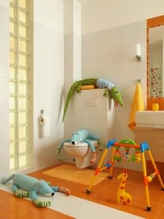 La Habitación Infantil: Seguridad en el cuarto de baño infantil