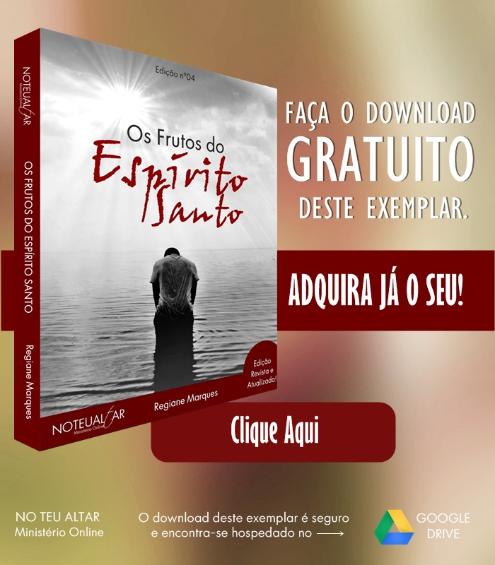 E-book Os frutos do Espírito Santo - No Teu Altar Blog