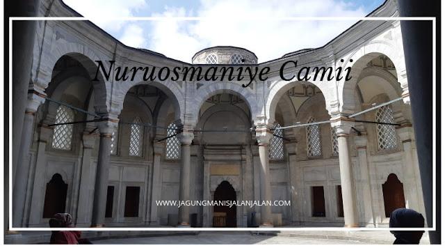 nuruosmaniye camii, istanbul