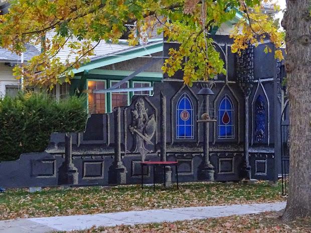 Boise Daily Halloween Facade