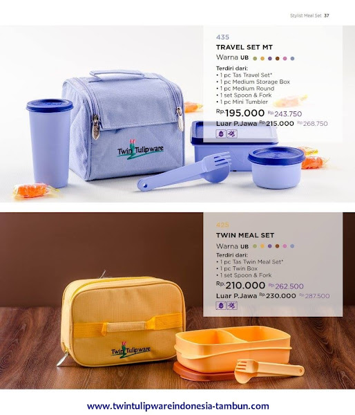 Travel Set MT, Twin Meal Set