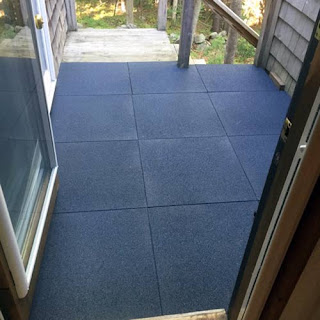 Greatmats sterling roof top rubber deck tile
