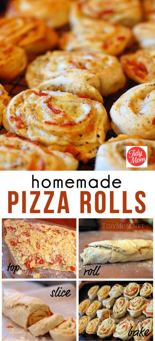 Home Made Pizza Rolls | GIRLS DISH