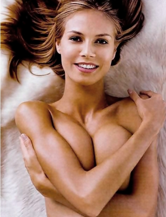 Very nude heidi photo klum something is. thank
