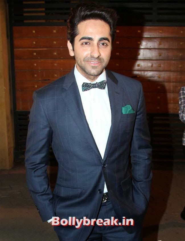 Ayushmann Khurrana at Filmfare Awards 2014, Filmfare Awards 2014 Red carpet Images