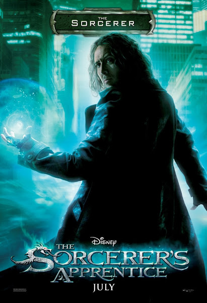 Poster of The Sorcerer's Apprentice 2010 720p Hindi BRRip Dual Audio Download
