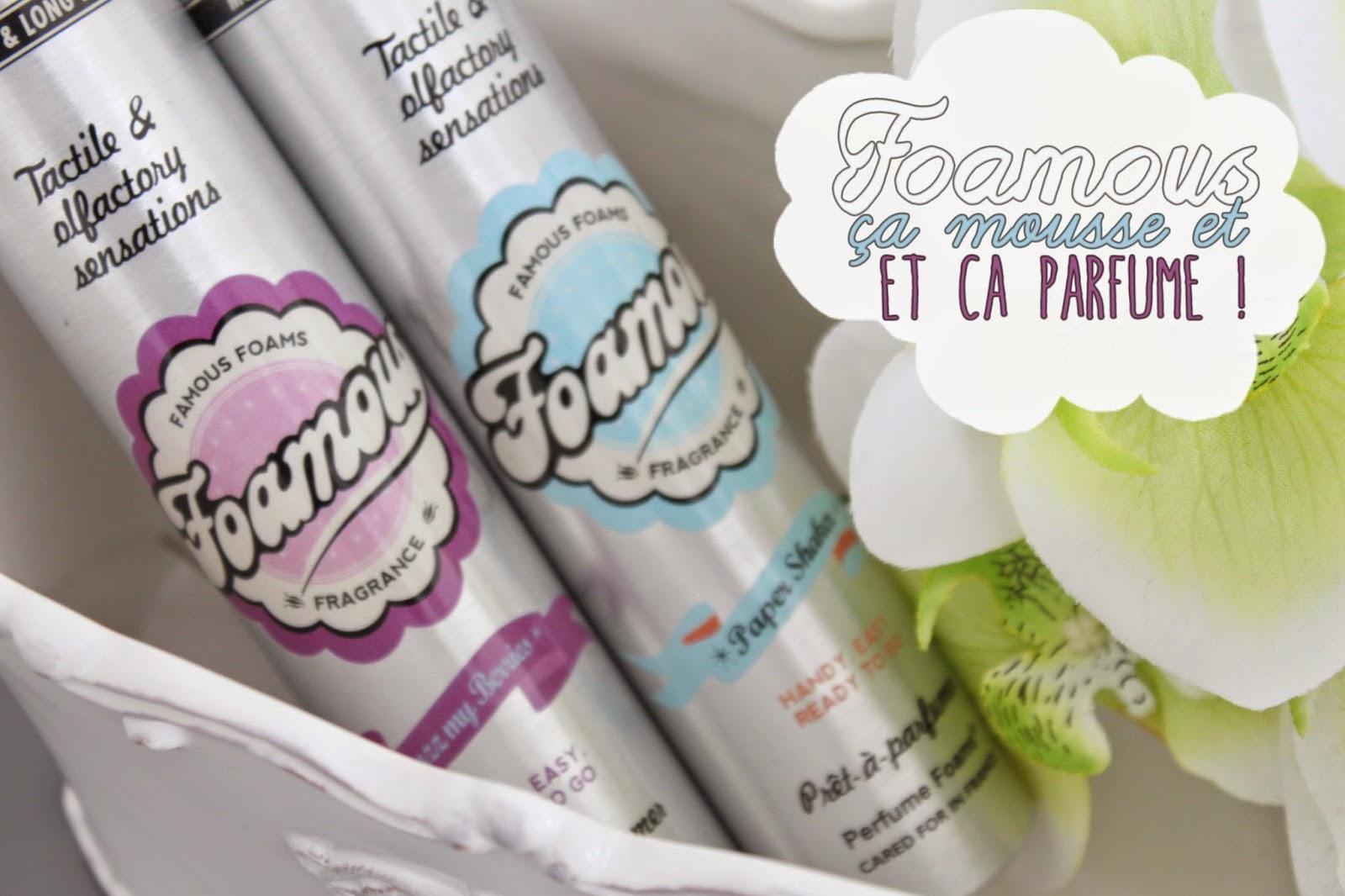 Foamous, ça mousse et ça parfume !