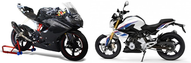 BMW  motorrad - TVS motors  to launch their joint venture Akula and BMW G310R this year.