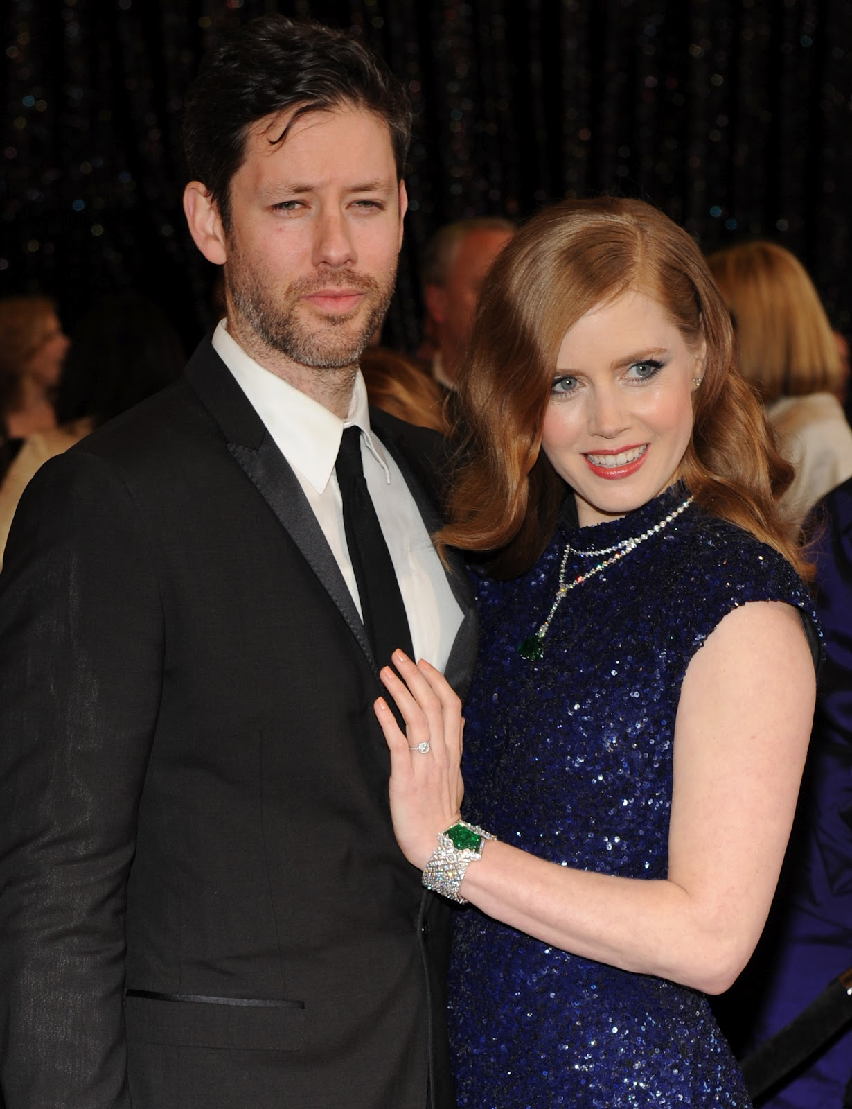 Amy Adams With Her Hus...