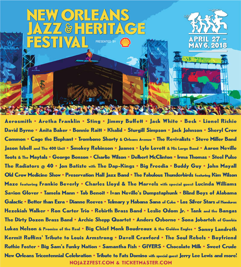 No Jazz Fest >> Watch Official Jazz Fest 2018 Talent Announcement New Orleans