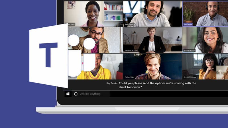 Microsoft Teams free users can now schedule meetings and enable live captions