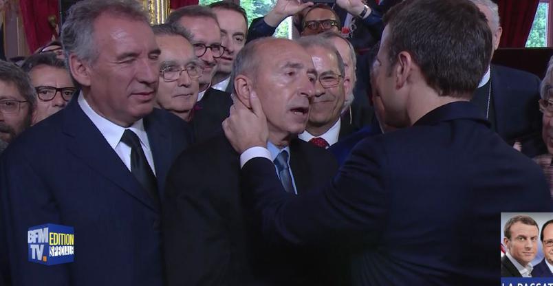 Martin Rey Chirac petit fils de Jacques Chirac rejoint Emmanuel