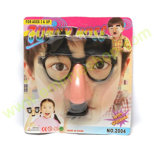 aksesoris photobooth kacamata hidung besar