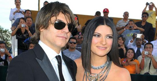 15 fãs que se casaram com seus ídolos - Laura Pausini e Paolo Carta
