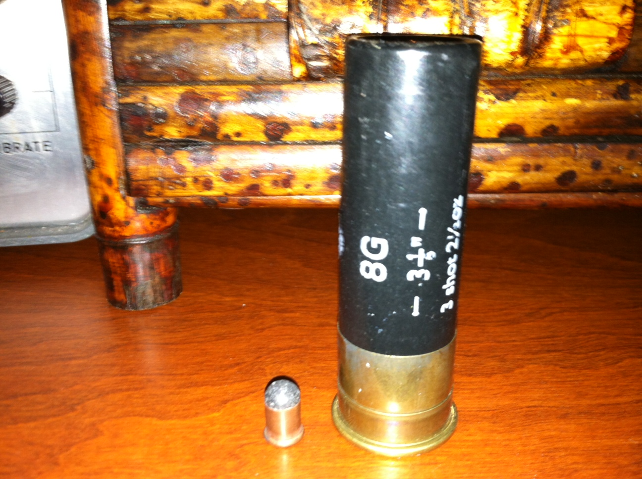 Ammo and Gun Collector: Latest Finds a Box of 8 Gauge Shotgun Shells