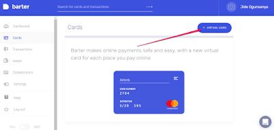 create virtual mastercard barter nigeria