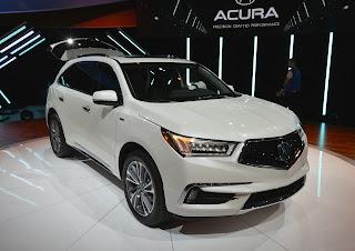 2019 Acura MDX Date de sortie, Prix #MDX #Acura