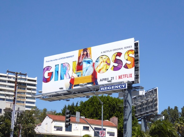 Girlboss Netflix series billboard