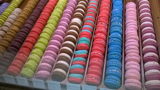 Colourful Macarons.