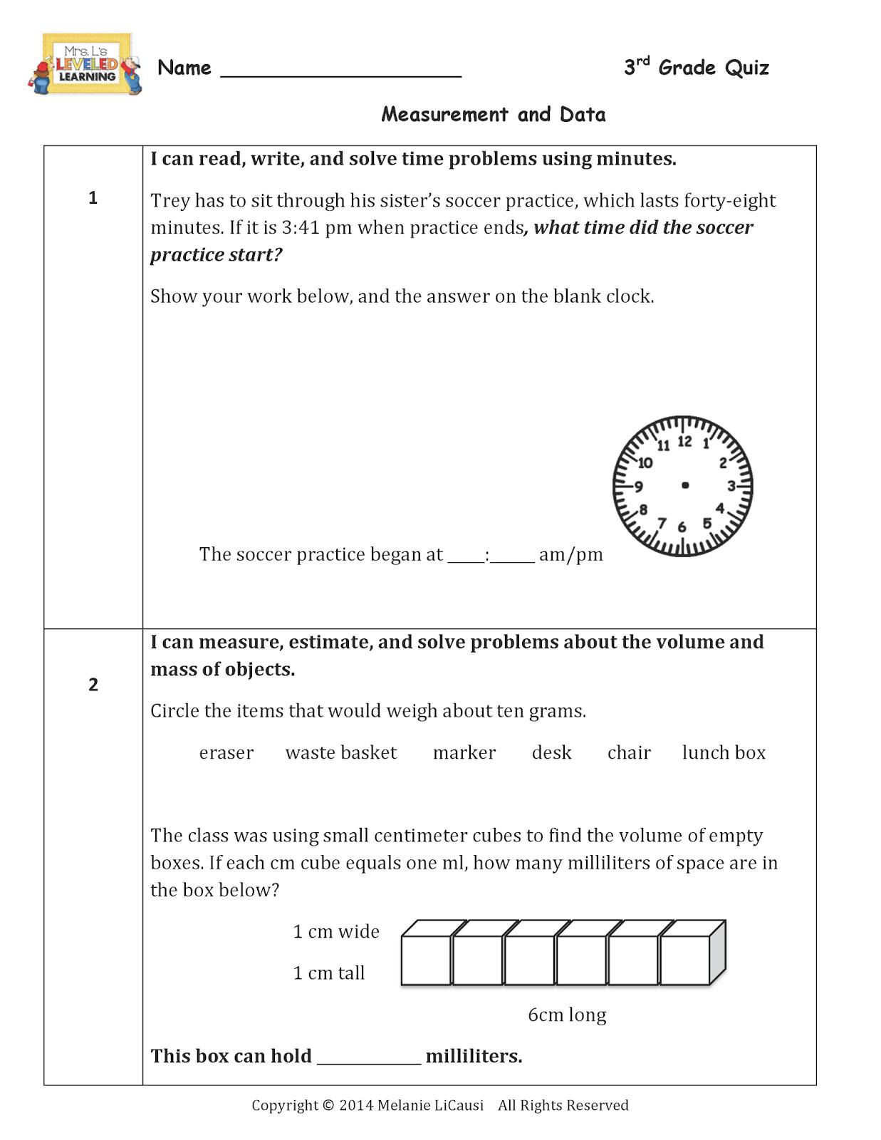 medium resolution of Math Quiz For Grade 3 Free - QUIZ