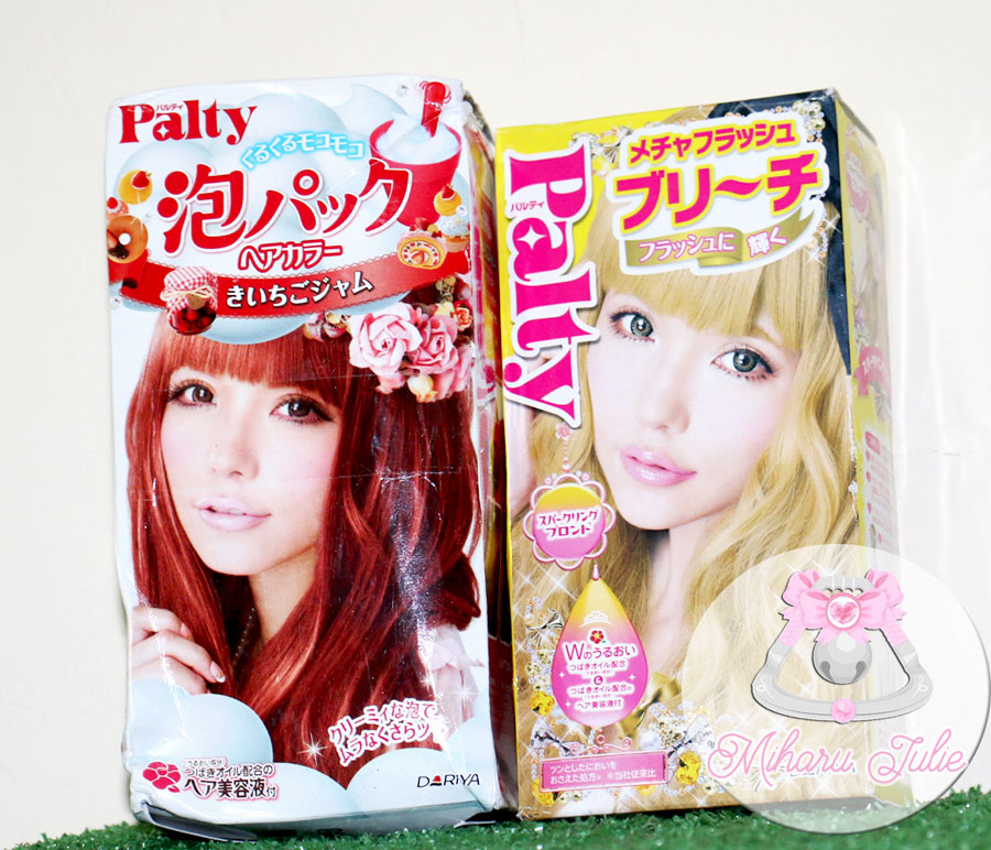 Palty Raspberry Jam Hair Dye Review Indonesia Beauty And Travel