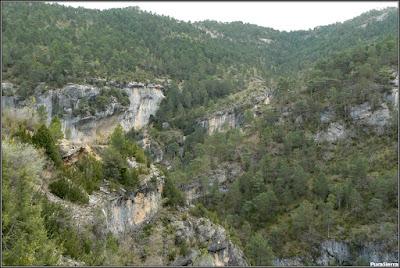 El Arroyo Del Horcajo excava el barranco del mismo nombre