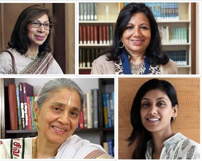 செல்வச் செழிப்புமிக்க இந்தியப் பெண்கள்!