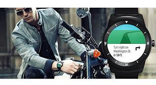 Jam Tangan Pintar LG G Watch R W110