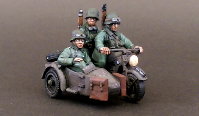 28mm German Sidecar
