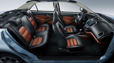 سيارة جيلي جي سي6 من الداخل  Geely GC6