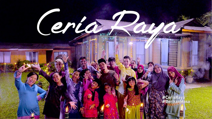 Mark Adam, Najwa Latif & Ceria Popstar - Ceria Raya