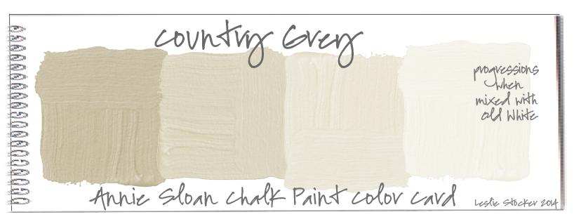 Annie Sloan Chalk Paint Colors Progressions