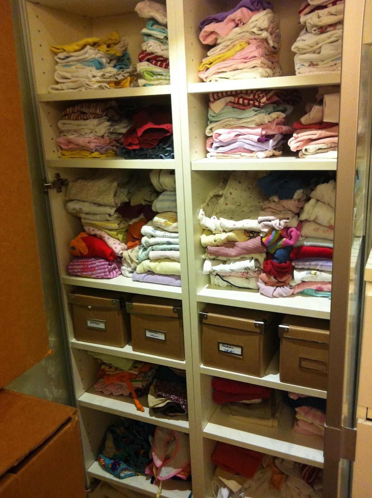 Baby Kleiderschrank Sortieren