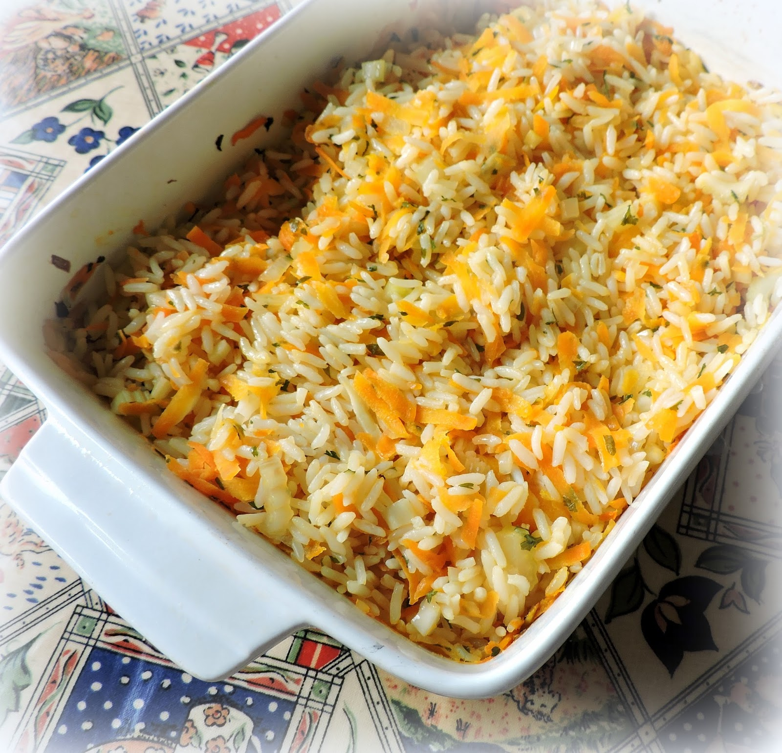 Delicious pilaf in the oven 56